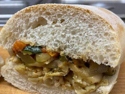 vegetable panino
