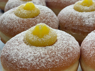 lemon donuts porcellino
